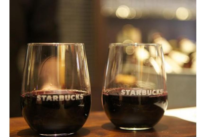 starbucks alcohol los angeles