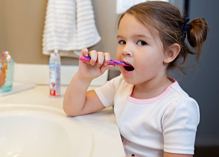 tooth fairy toothbrush girl