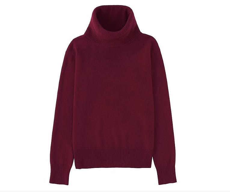 uniqlo cashemere sweater under  100 chicago