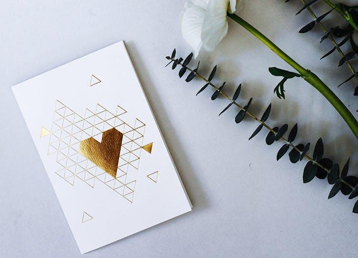 valentines day lovenote