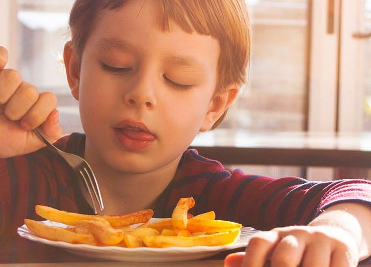 vegetarian kids fries