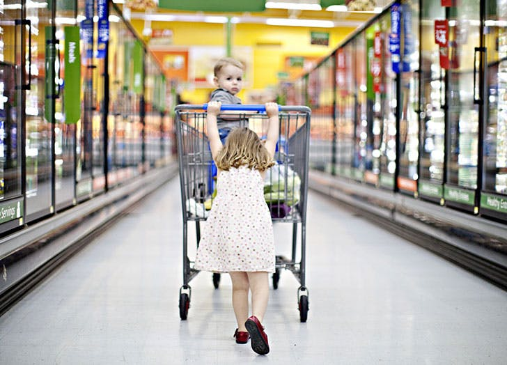 vegetarian kids grocery store