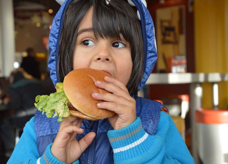 vegetarian kids hamburger
