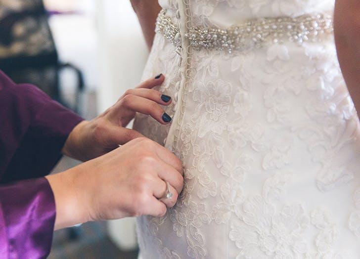 wedding dos button