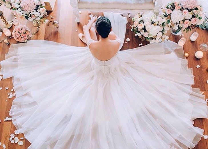 wedding dos dress