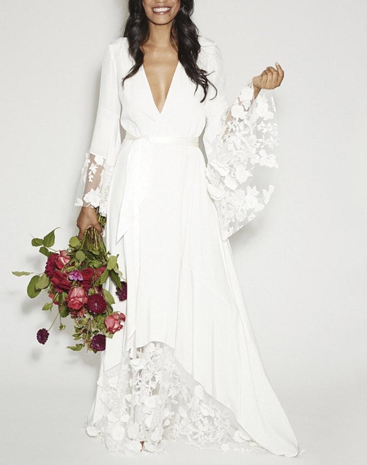 Non traditional wedding dress websites