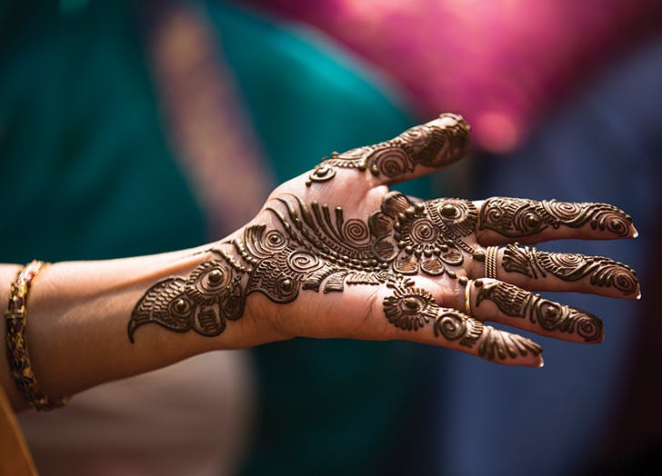 wedding traditions india henna