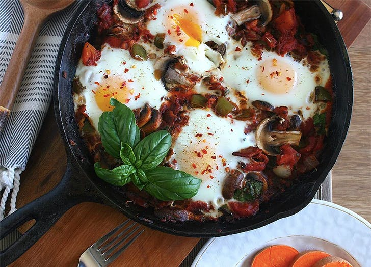 whole30 eggskillet