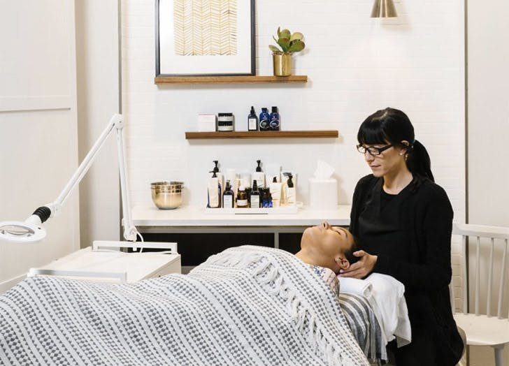 winter skin NY heyday facial