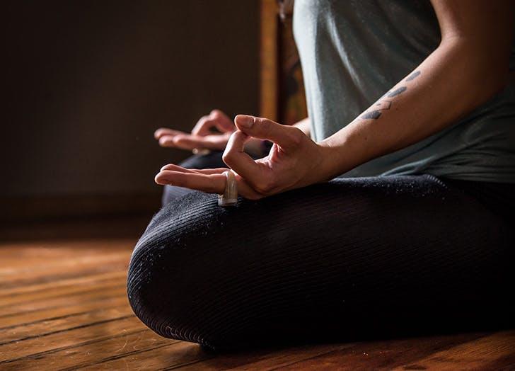 yeast infection yoga