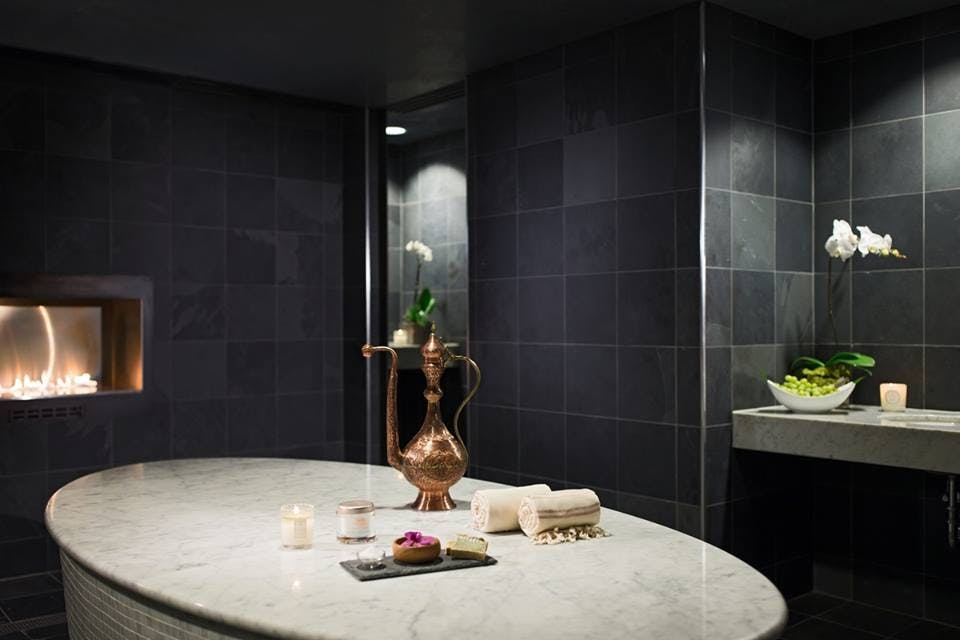 24K Gold Package at Spa at JW chicago spa treatments