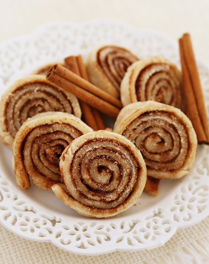 3 ingredient cinnamoncookies