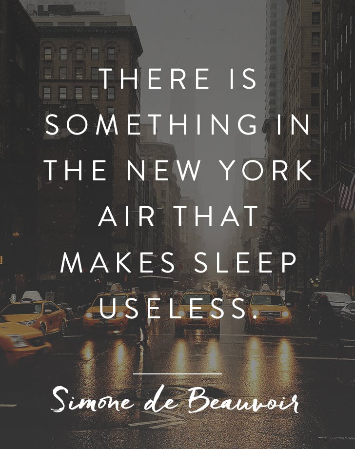 The 10 Best Quotes About New York City Purewow