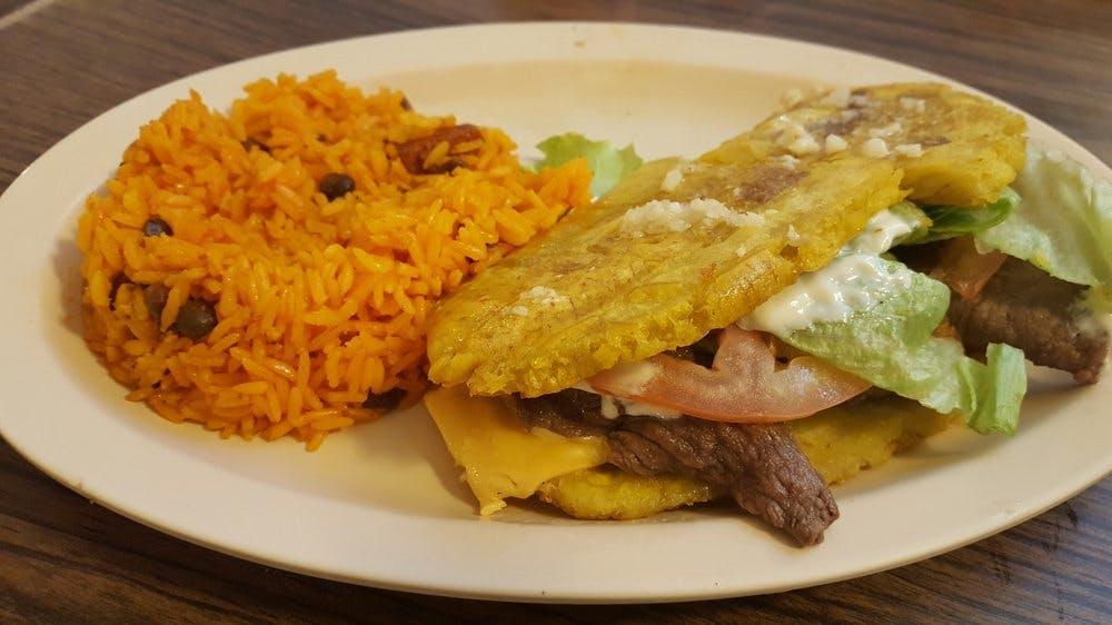Steak Jibarito from El Nuevo Borinquen