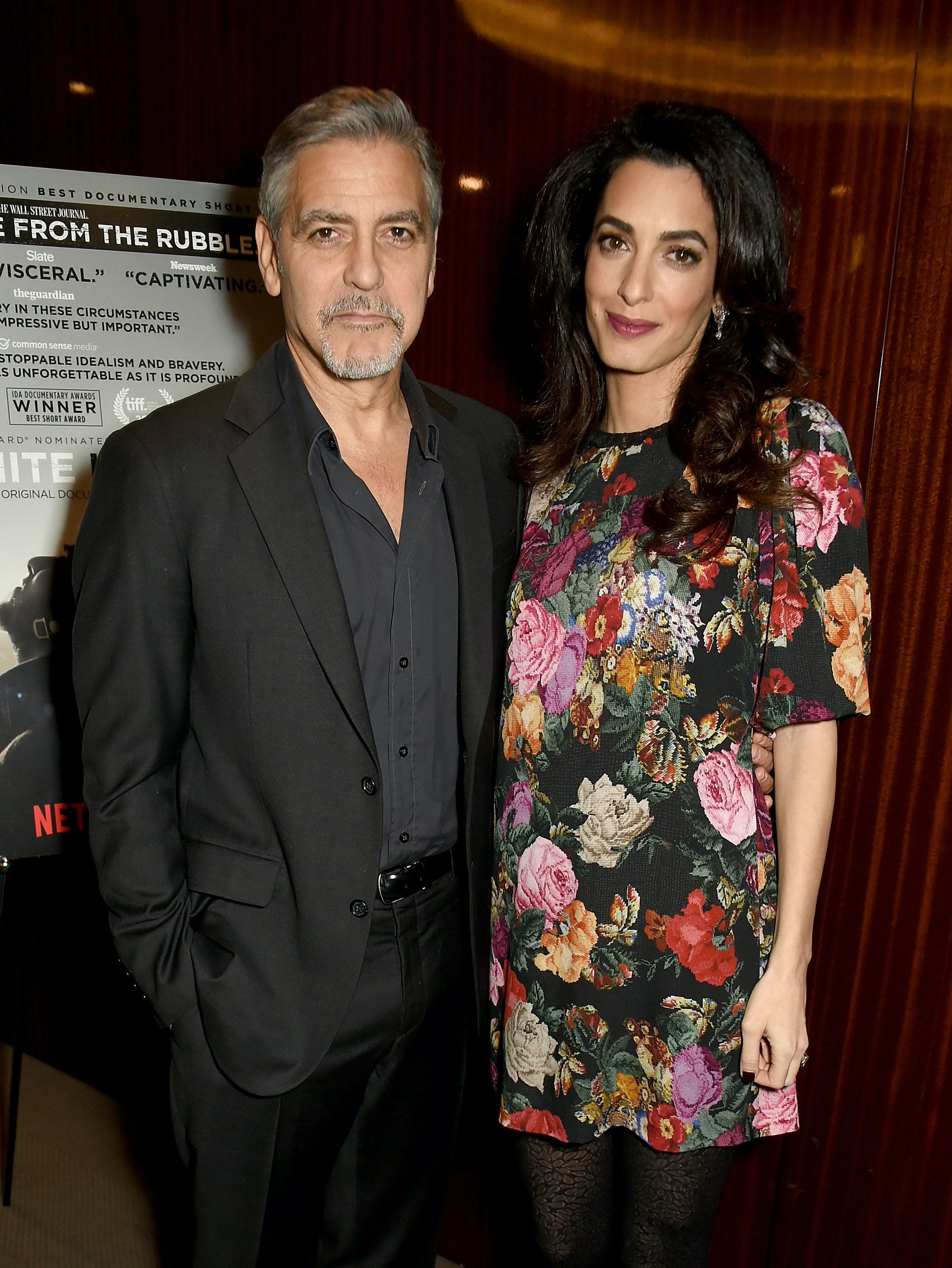 amal and george clooney celebrity babies due in 2017