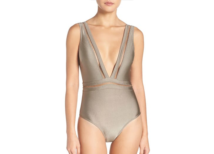 bathingsuit metallic