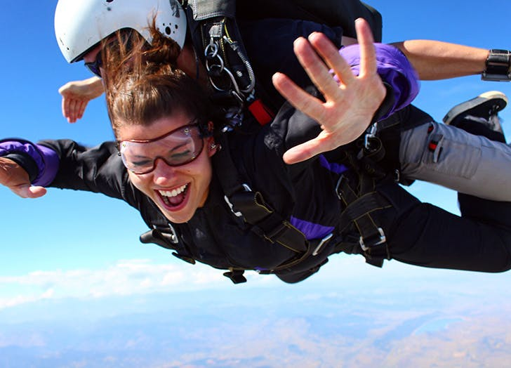 birthday skydive