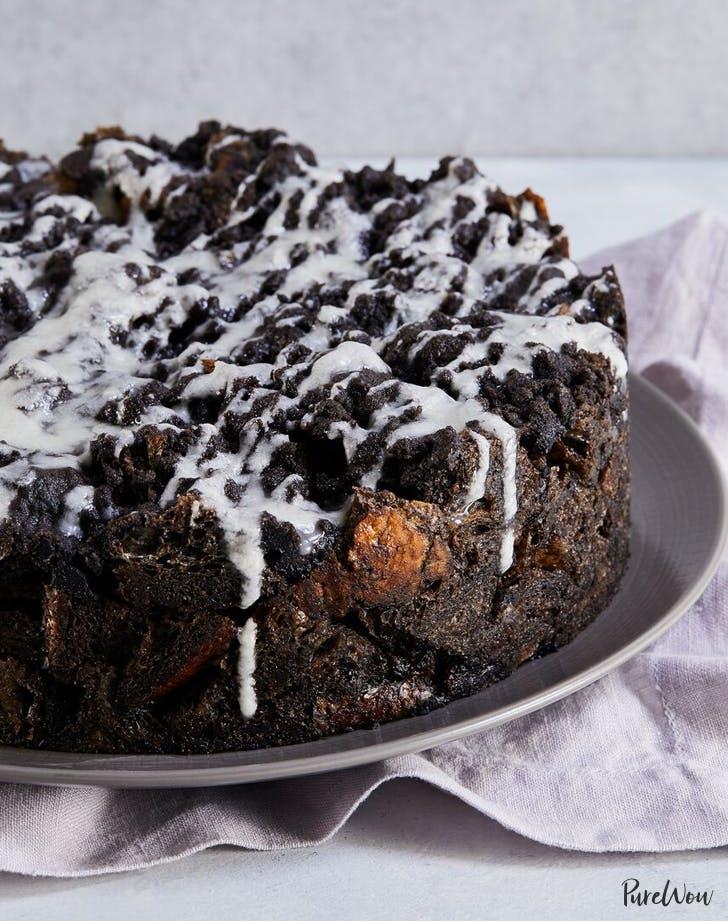 chocolate bread pudding list