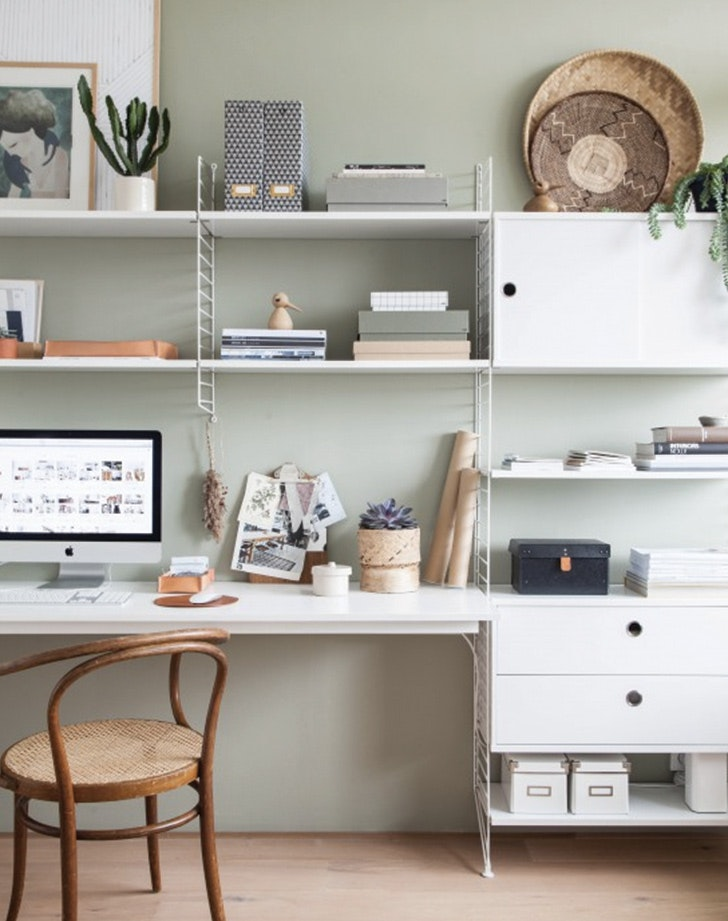 For The Home Office: Try Sage Green
