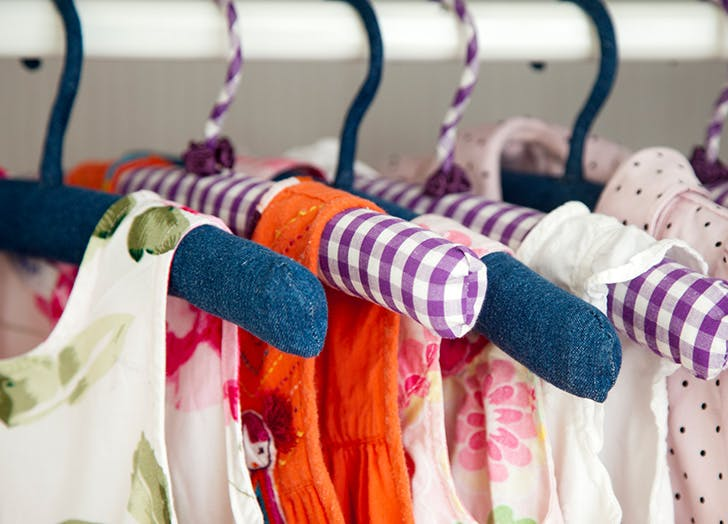declutter clothes