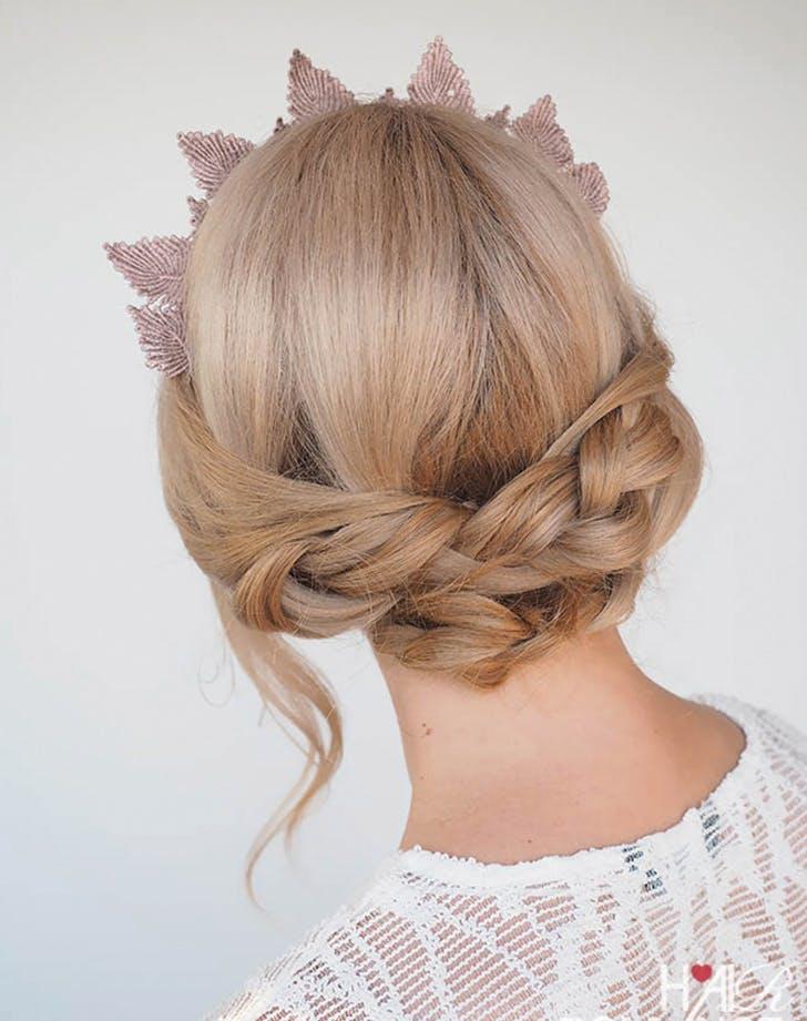 easy wedding hair braid