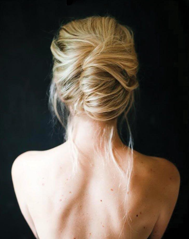 easy wedding hair french twist