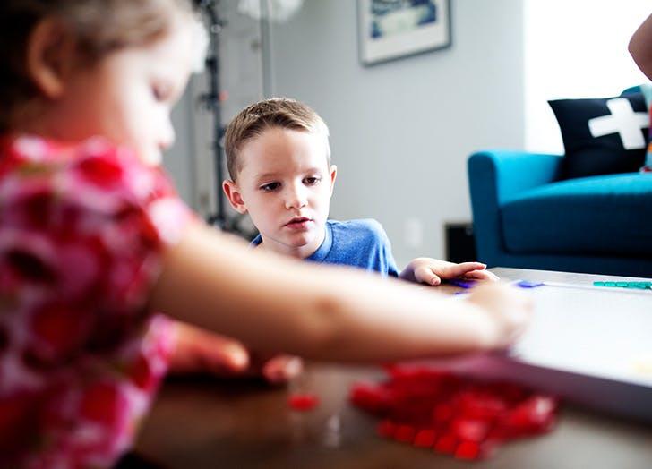 family chores game