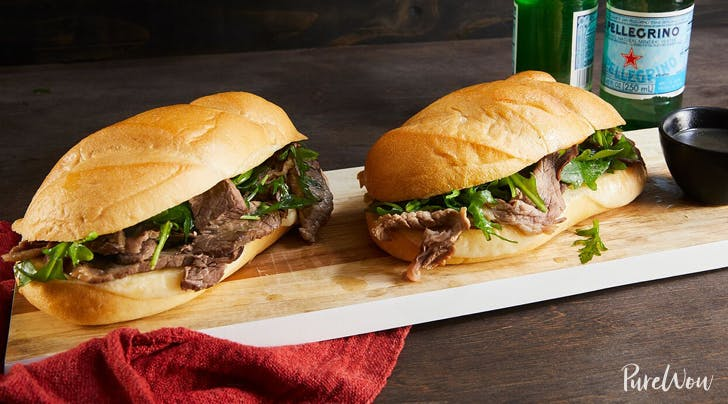 Slow-Cooker French-Dip Sandwiches