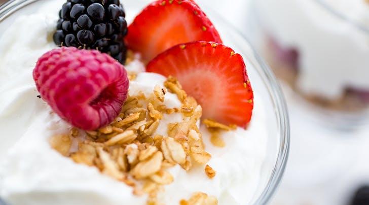 An Easy Trick to Turn Regular Yogurt into Greek Yogurt