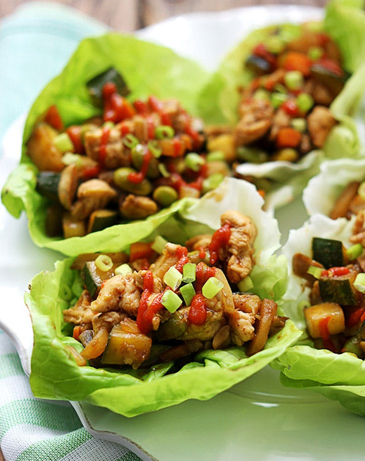 march dinner lettucewraps