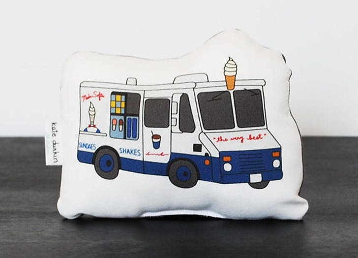 mister softee pillow NY 2