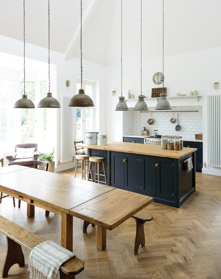 navy blue kitchen grey navy kitchen1 navy blue kitchens are gorgeous and trending purewow