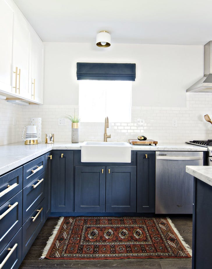 Navy Blue Kitchens Are Gorgeous And Trending Purewow
