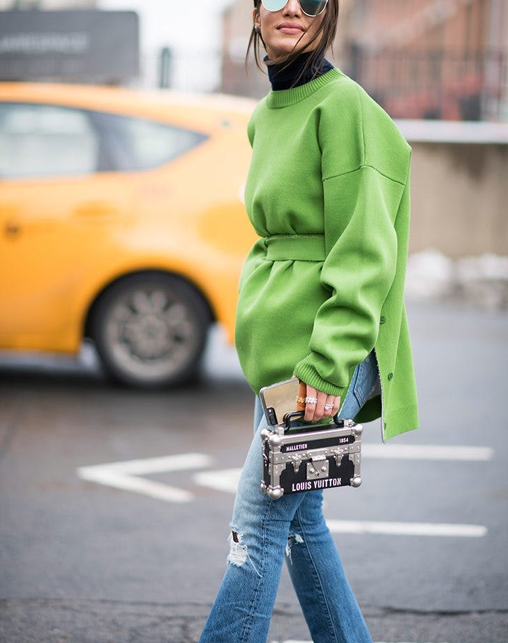 new york fashion week 2017 bright color