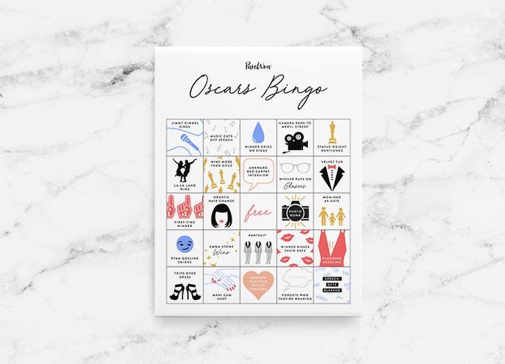 oscars bingo 2017