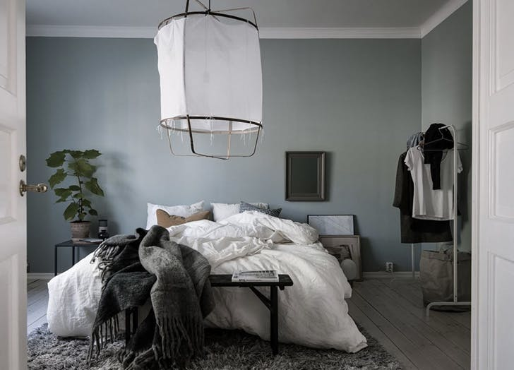 For The Bedroom Try Dusty Blue