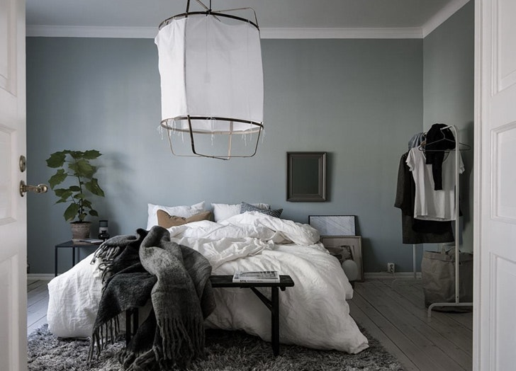 For The Bedroom: Try Dusty Blue