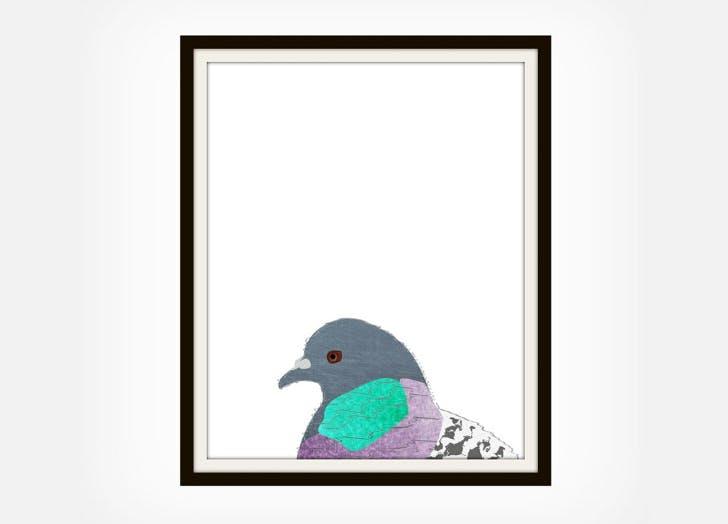pigeon print NY 2