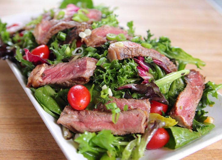 pioneer steaksalad