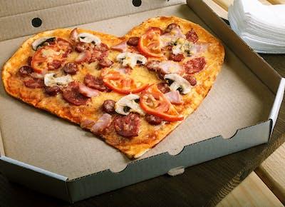 pizza registry heart