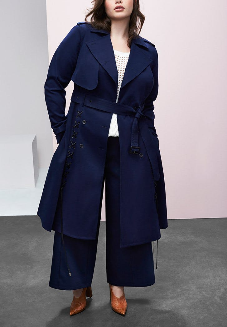prabal gurung lane bryant trench v21