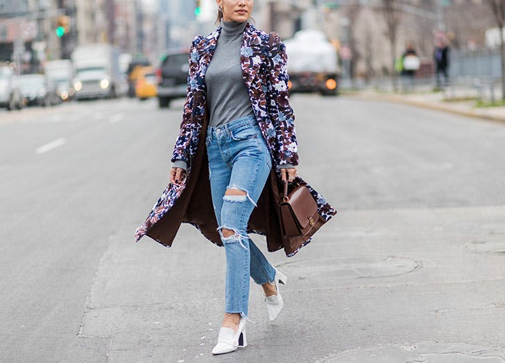 spring outfits floral