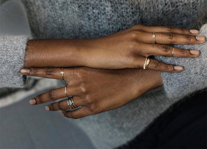 stacking rings vanessa lianne NY