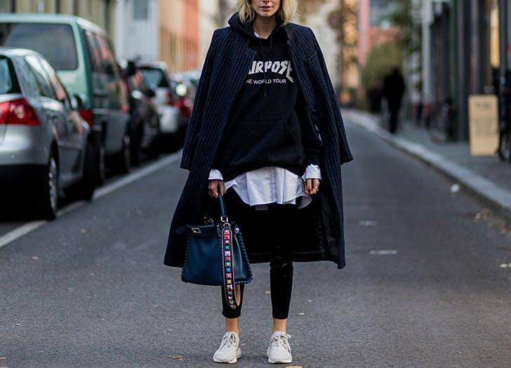sweatshirt duster