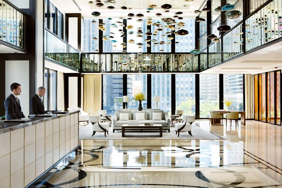 the langham chicago beautiful hotels