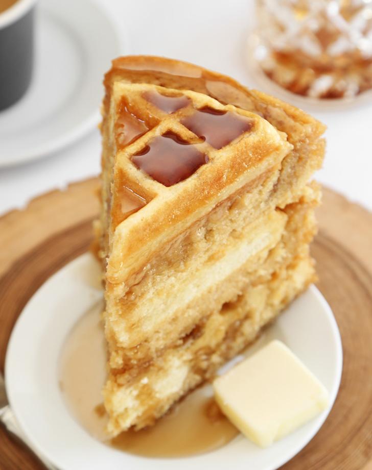 Waffle cake recipe