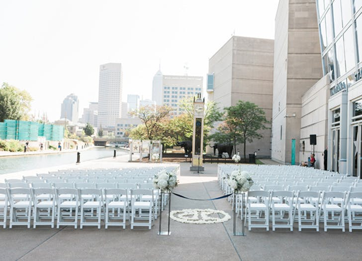 Most beautiful wedding venue in every state purewow for 6855 shore terrace dr indianapolis in