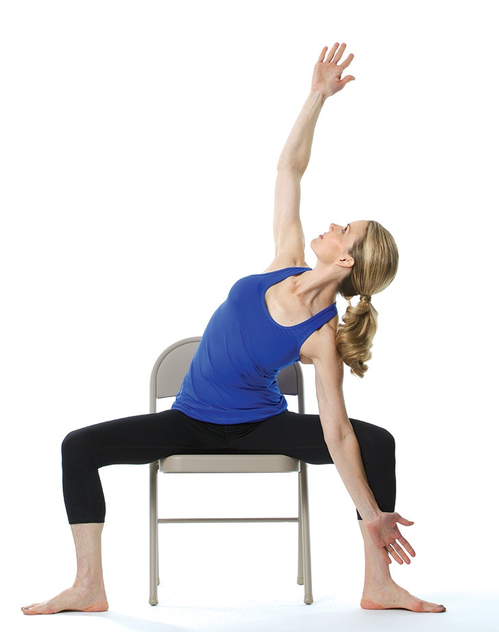 It's just a picture of Printable Chair Yoga Poses within simple