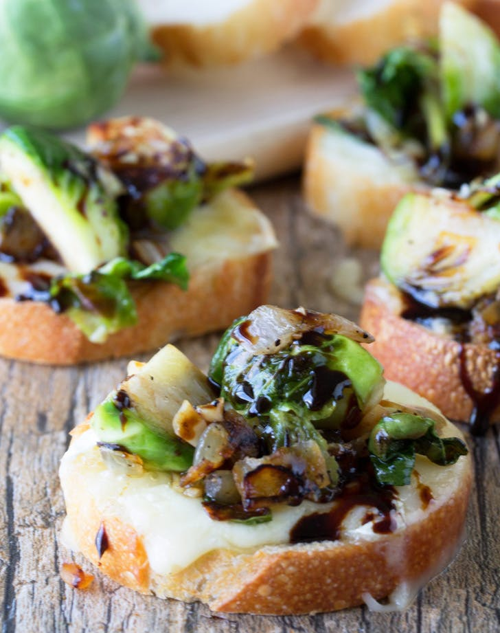 BRUSSEL SPROUT BRUSCHETTA