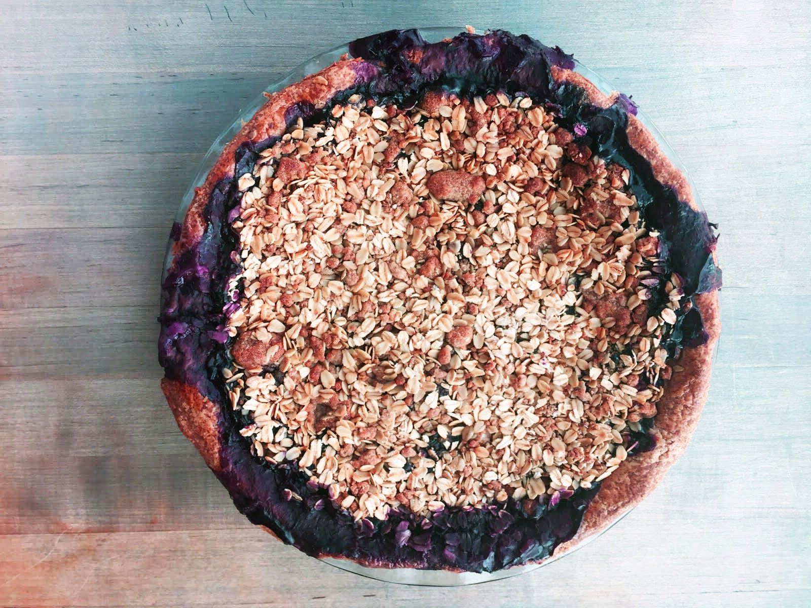 Blueberry Pie at Love   Salt photoshopped